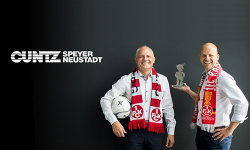 Foto der News CUNTZ und der FCK - Südpfalzinitiative FCK.