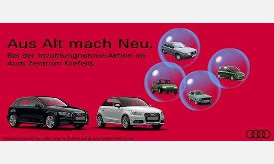 Foto des Serviceangebots Audi A3 Sportback 1.0 TFSI für 69€ im Monat