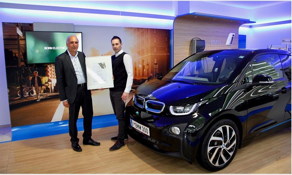 BMW Group Kompetenzzentrum Unterberger-Denzel als Österreichs bester BMW i Händler ausgezeichnet