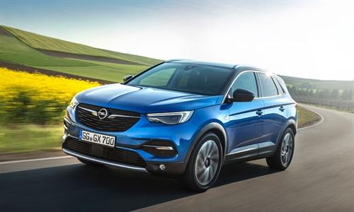 Foto der News Wacher Geist: Neuer Opel Grandland X alarmiert vor Sekundenschlaf