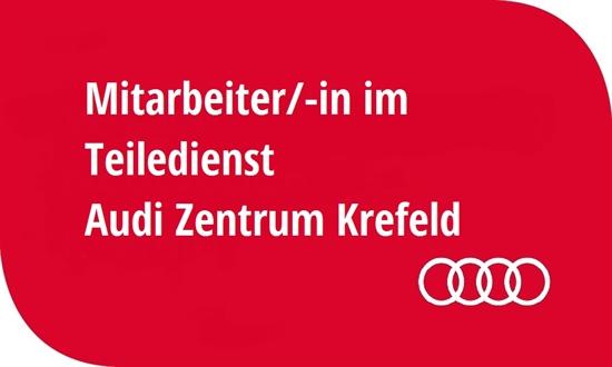 Foto des Stellenangebots Mitarbeiter/-in im Teiledienst im Audi Zentrum Krefeld