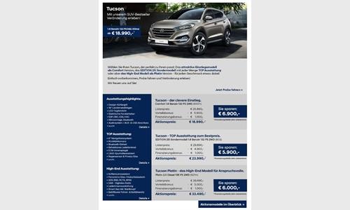 Foto der News Hyundai Aktionsmodelle – Der Tucson
