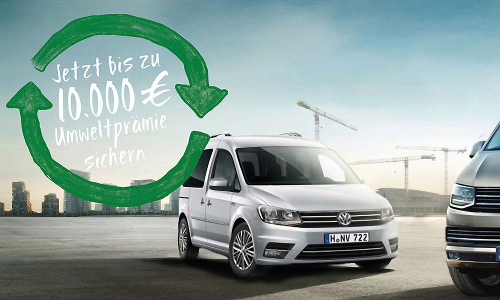 Jetzt bis zu 10.000 € Umweltprämie sichern. VW-Nutzfahrzeuge