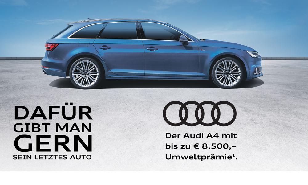 Anzeige: DAFÜR GIBT MAN GERN SEIN LETZTES AUTO