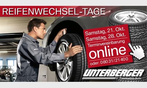 Foto der News Reifenwechsel-Samstage bei Unterberger in Rosenheim