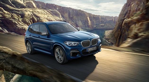 Der neue BMW X3 xDrive20d
