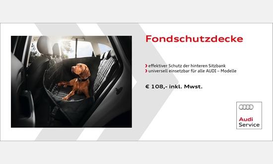 Foto des Zubehörangebots Audi Fondschutzdecke