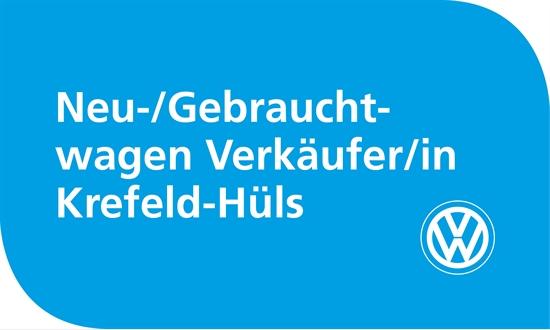 Foto des Stellenangebots Volkswagen Neu/Gebrauchtwagenverkäufer/in in Krefeld-Hüls