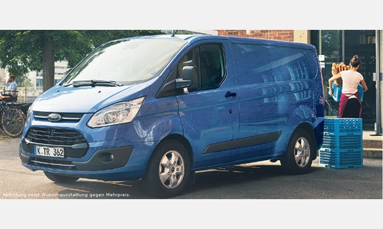 Foto des Serviceangebots Ford Transit Custom Sport Kastenwagen Lkw für 279€ im Monat